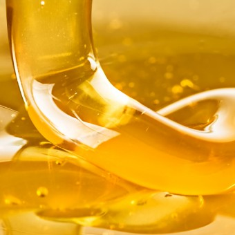 Pouring honey on your toes